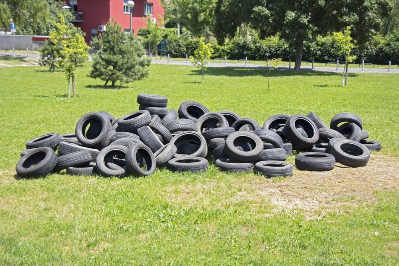 Don 39 t throw away old tires put them to good use page for What can old tires be used for