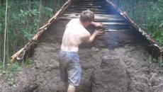 making a hut