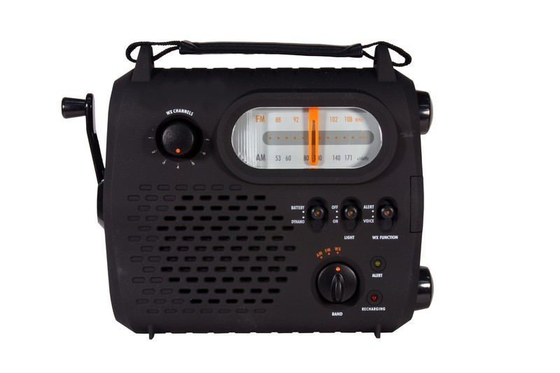 emergency radio isolated