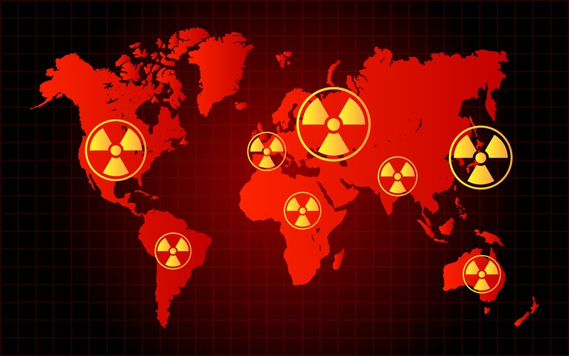 nuclear waste zone
