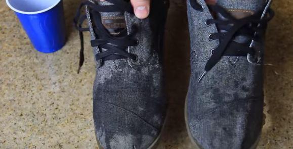 making shoes waterproof