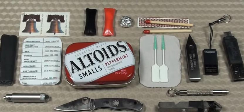 tin survival kit