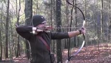 Lilly with a bow and arrow