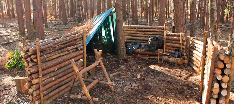 Video This Bushcraft Camp Is Incredible When You See