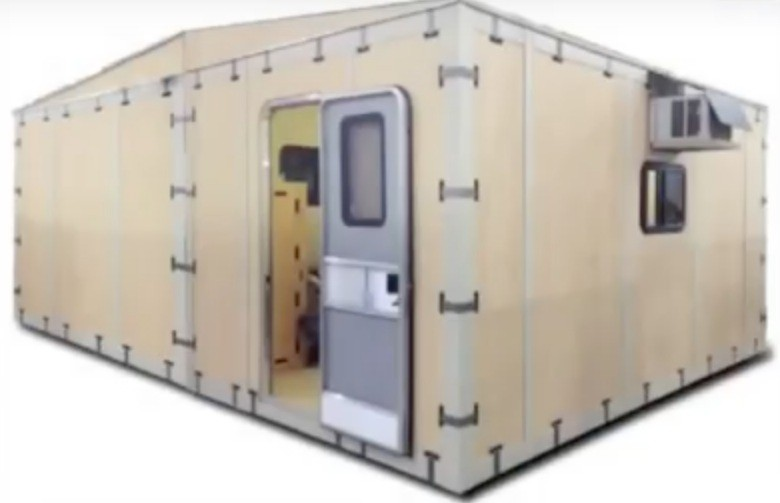Portable Bug Out Shelters : Video is this the best bug out shelter for a collapse