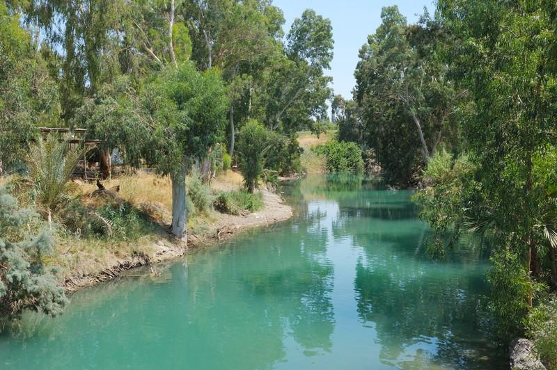 River in Jordan