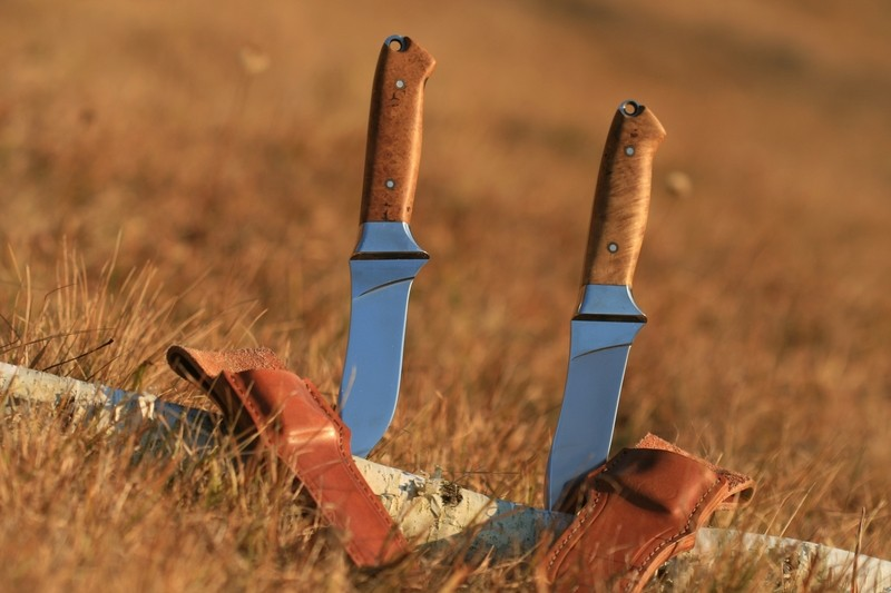 For deer hunting cutlery for gutting skinning and quartering