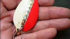 fishing lure from a spoon