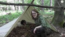 tent without cordage