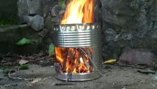 hobo-stove-using-a-can