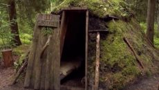huts in Sweden