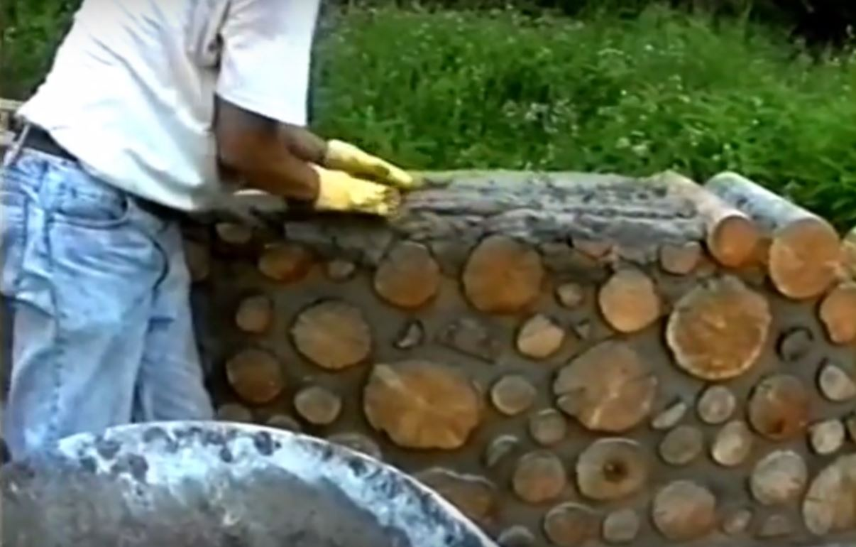 Video how to build a cordwood house for off grid living for Cordwood house cost