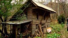 cabin in woods