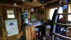 inside tiny house