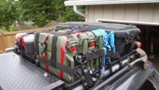 roof rack storage