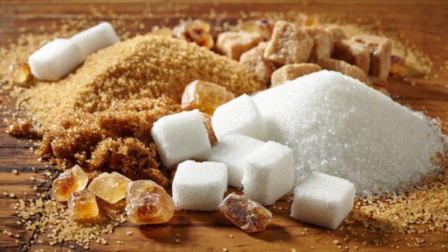 food and sugar