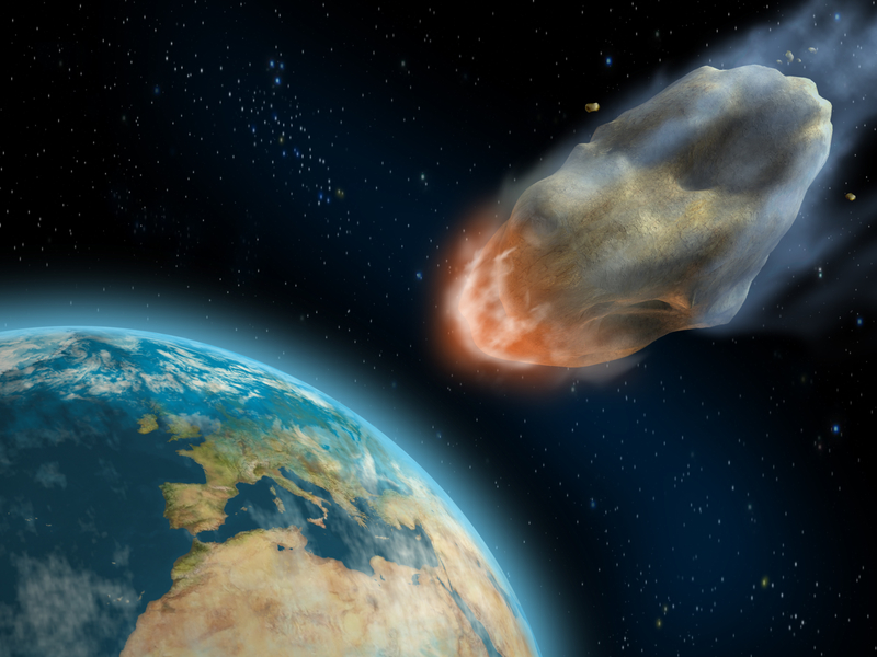 making an asteroid impact - photo #28