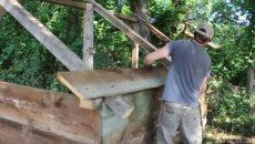 backwoods shelter