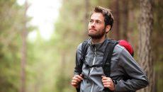 man-hiking