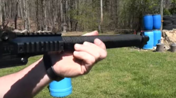 CHECK OUT THIS SURVIVAL SHOTGUN THAT CAN FIRE 12 DIFFERENT CALIBERS