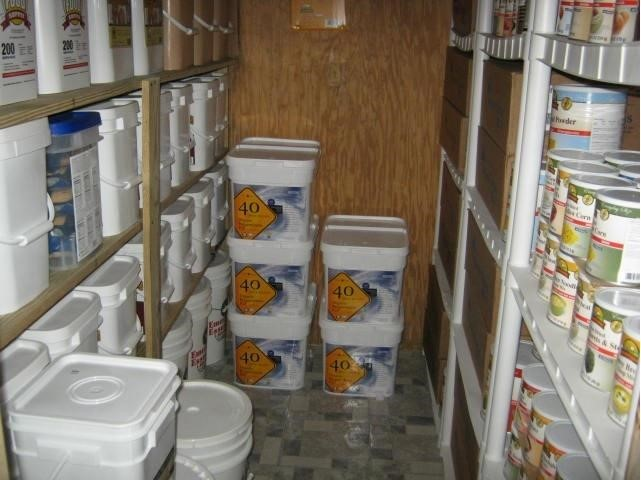 Food Storage List For Preppers