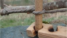 bow drill cord