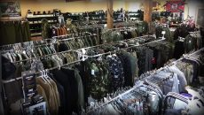 military surplus outlet