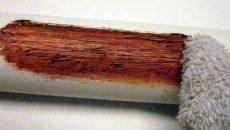 PVC pipe wood