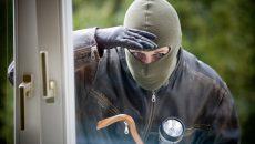 burglar peering through window