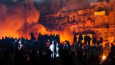 riot in Ukraine