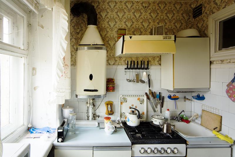 small kitchen apartment