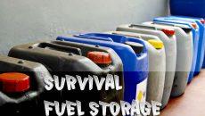 survival fuel storage
