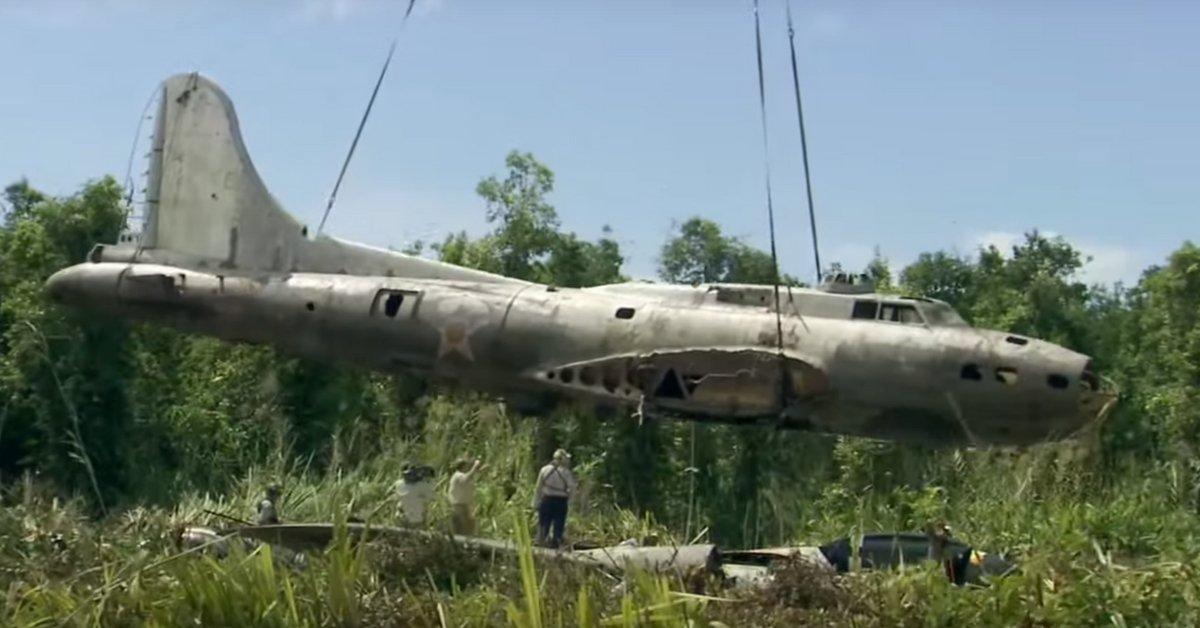 Missing Plane Found In Jungle 68 Years Later Die Hard Survivor