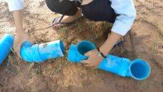 making fish trap