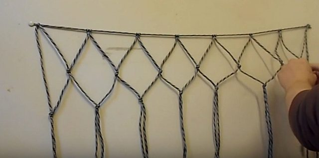 paracord netting