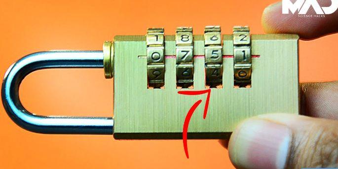 opening numeric lock