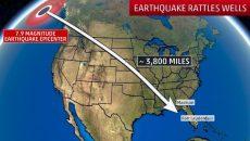 earthquake rattles wells