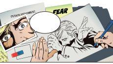 afraid man comic
